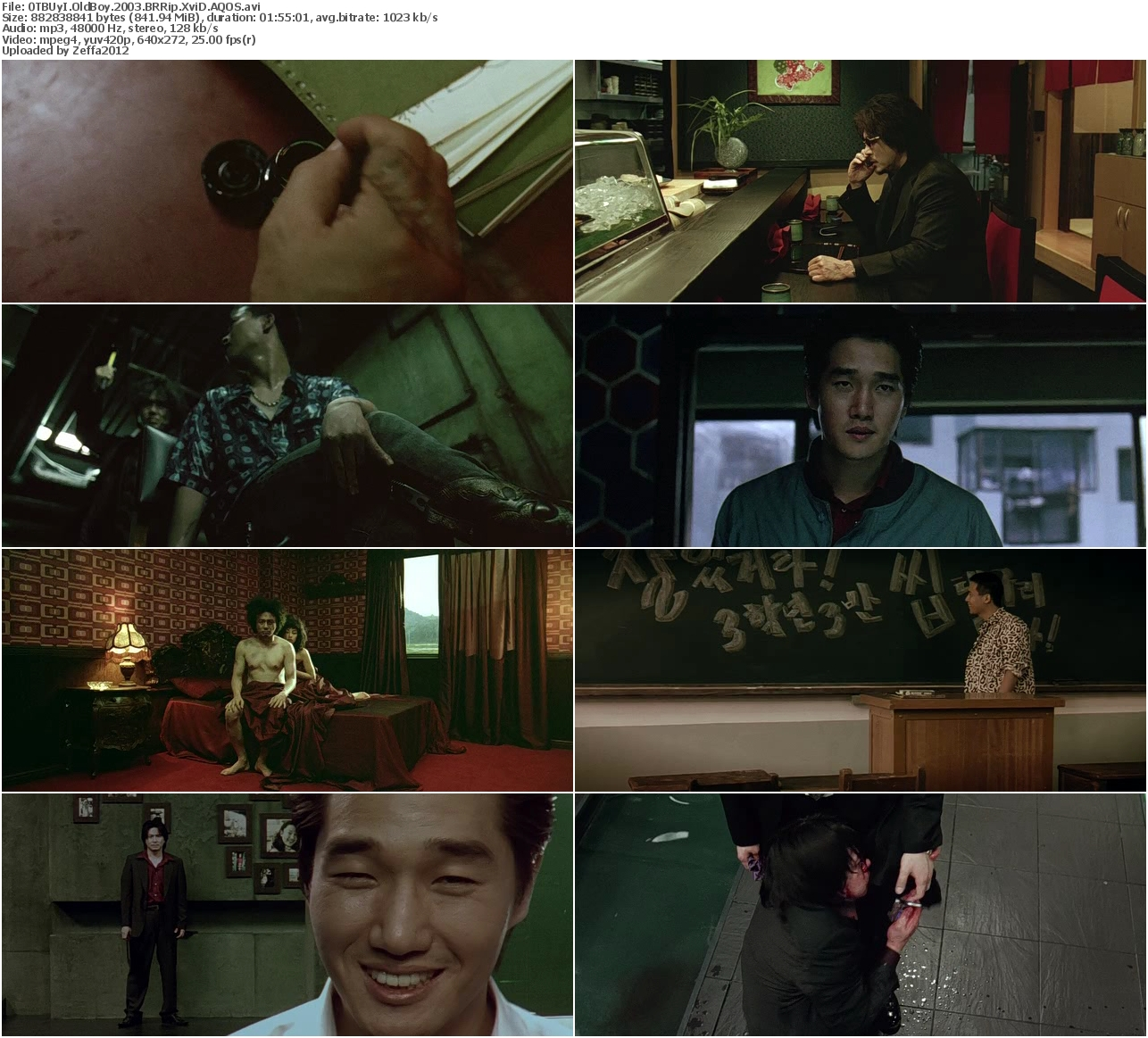 [MULTI] OldBoy (2003) BRRip XviD-AQOS