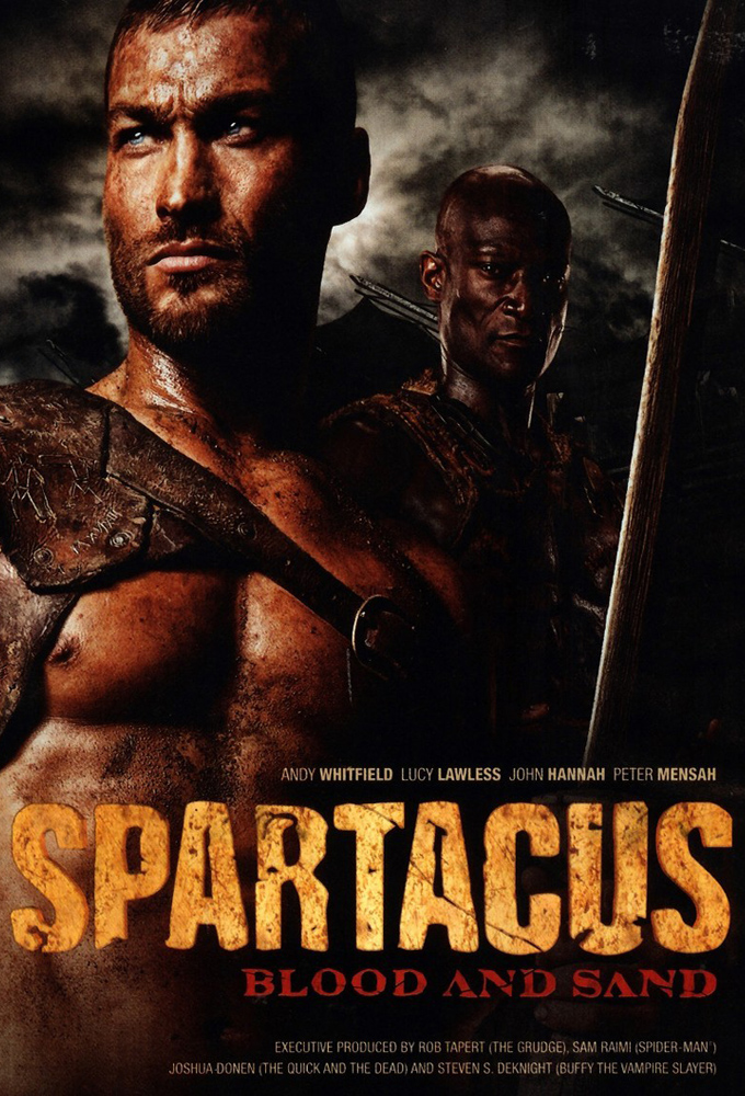 1292611 Spartacus Blood and Sand   Season 1 DVDRip XviD QCF