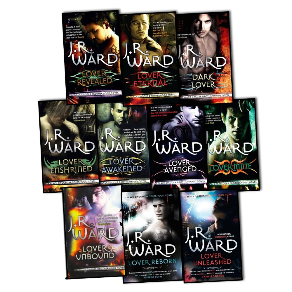 jrwardblac J.R. Ward   The Black Dagger Brotherhood Complete Collection